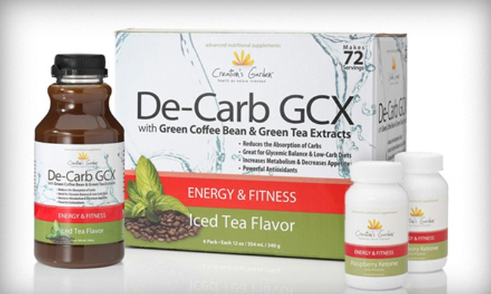 Hollywood Vitality: 72 or 144 Servings of Green-Coffee-Bean Weight-Loss Supplement with 2 or 4 Bottles of Raspberry Ketone (Up to 75% Off)