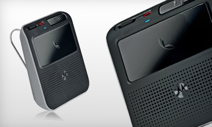 Motorola Bluetooth In-Car Speakerphone: $25 for a Motorola Bluetooth In-Car Speakerphone ($49.99 List Price). Free Shipping.