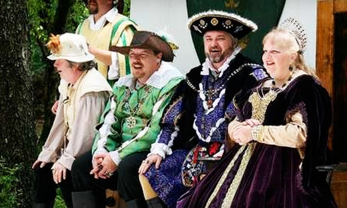 Mayfaire Renaissance Festival - Mayfaire Renaissance Fair: Mayfaire Renaissance Festival Admission for Two or Four in Marshall (Up to 55% Off)