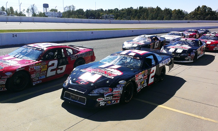 Rusty Wallace Racing Experience - Multiple Locations: 3-Lap Ride-Along or 5- or 15-Lap Race Car Driving Experience at Rusty Wallace Racing Experience (Up to 60% Off)