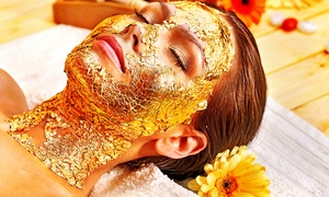 Beautiful Times Salon: Gold Facial (from AED 59) With Head Spa Treatment and Blow-Dry (from AED 99) at Beautiful Times Salon (Up to 65% Off)