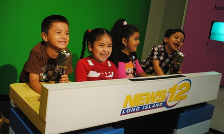 Visit for Two or Four to Long Island Children's Museum (50% Off)