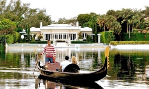 Miami Beach Gondolas: $69  for a Venetian Gondola Tour from Miami Beach Gondolas ($120 Value)