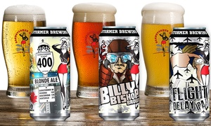 Barnstormer Brewing Co. - Air Craft Beer: Billy Battered Pickles, Beer Flights, and Growlers at Barnstormer Brewing Co. - Air Craft Beer (40% Off)
