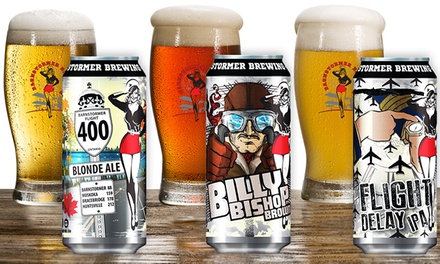 Billy Battered Pickles, Beer Flights, and Growlers at Barnstormer Brewing Co. - Air Craft Beer (40% Off)
