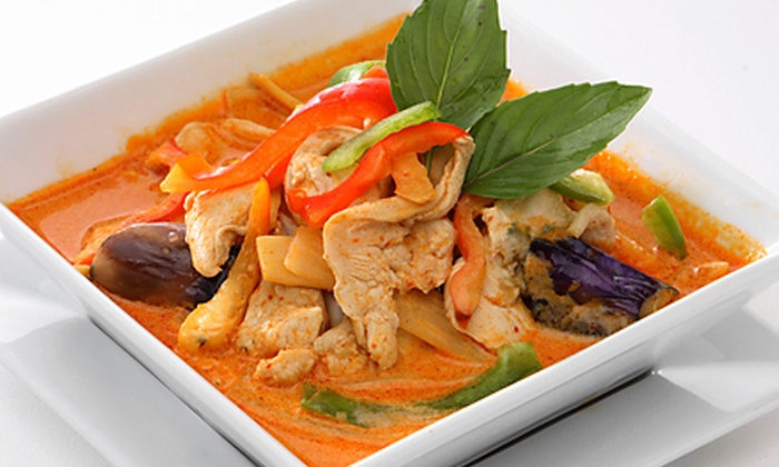 Aroy Thai Fusion - Girvin: Thai Fusion Cuisine at Aroy Thai Fusion (Up to Half Off). Two Options Available.