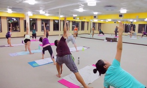 Bikram Hot Yoga Central Fremont: 10 or 15 Yoga Classes at Bikram Hot Yoga Central Fremont (Up to 67% Off)
