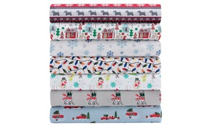 Tis The Season Microfiber Holiday Sheet Set