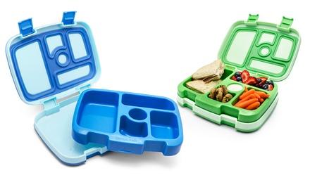 bentgo kids lunch boxes blue green set of 2 groupon. Black Bedroom Furniture Sets. Home Design Ideas