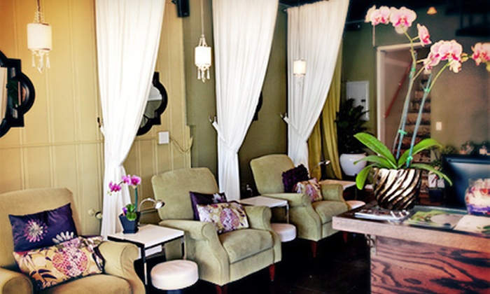 Simply Green Day Spa - Simply Green Day Spa: Simply Green Spa Mani-Pedi or Organic Relaxation Hot-Stone Mani-Pedi at Simply Green Day Spa (Up to 54% Off)