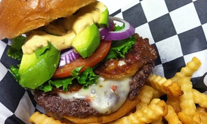 Brody's Burgers and Brews: Two or Four Burgers or Sandwiches with Sides and Pints at Brody's Burgers and Brews (Up to 64% Off)