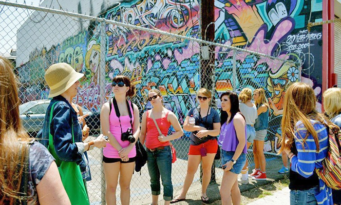 Graff Tours - Novel Cafe: $12 for 90-Minute Group Tour of LA's Graffiti for One from Graff Tours ($25 Value)