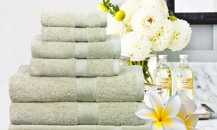 Egyptian Cotton Towel Set: SevenPiece $39 or 14Piece Set $69 Don't Pay up to $218