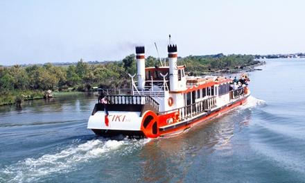 Croisière camarguaise d1h30 à bord du bateau Tiki III pour 1 ou 2 personne dès 9 €
