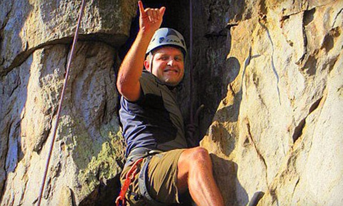 Thrifty Adventures - Gastonia: Half- or Full-Day Introduction to Rock-Climbing Class for One or Two at Thrifty Adventures (Up to 63% Off)