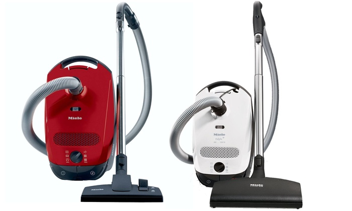 Miele S2 Contour Canister Vacuum Groupon