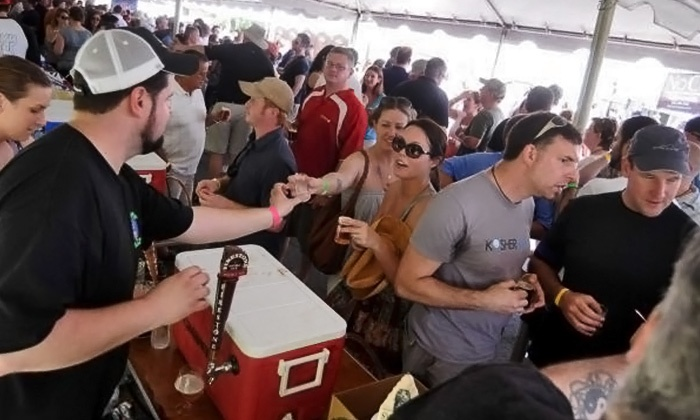 Growler & Gill Craft Beer Shoppe - North Jersey: $60 for Lower Hudson Valley Craft Beer Festival for Two at Growler & Gill Craft Beer Shoppe ($120 Value)