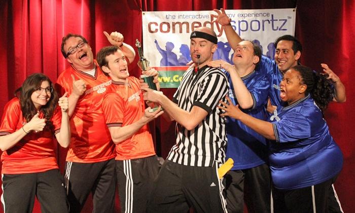 ComedySportz NYC - Midtown West: Improv Comedy Show or Improv 101 Course at ComedySportz NYC (Up to 70% Off)