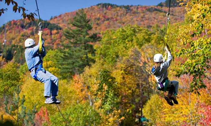 Alpine Adventures - Lincoln: SkyRider Zipline Tour, Off-Road Safari Tour, or All-Access Gift Card for 2012-13 from Alpine Adventures (Up to 31% Off)
