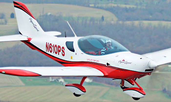 Fleming Aviation - 1: $139 for Flight Lesson with Ground Instruction and Video at Fleming Aviation ($285 Value)
