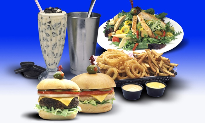 Cheeburger Cheeburger - Southwest Topeka: $14 for Two Groupons, Each Good for $14 Worth of Burgers, Milkshakes, and Classic American Food at Cheeburger Cheeburger