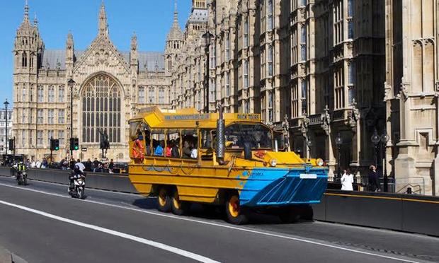 Groupon London Duck Tours