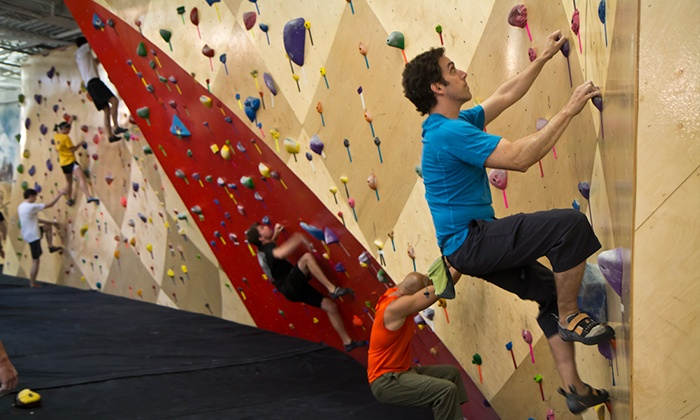 Brooklyn Boulders Somerville - Ward Two: Rock-Climbing at Brooklyn Boulders Somerville (Up to 51% Off). Two Options Available.