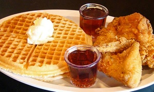 Chicagos Home of Chicken & Waffles - Oak Park: Soul Food at Chicago's Home of Chicken and Waffles (Up to 42% Off)