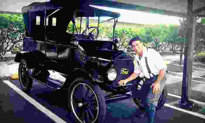 Gulfside Adventures - Clearwater Beach: Tour of Clearwater Beach in 1918 Model T with Shepard's Buffet Lunch and Photo from Gulfside Adventures (Up to 57% Off)