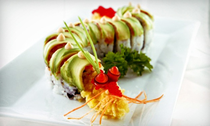 Sushi Rock Sobe Lounge - Flamingo / Lummus: Sushi for Two, Four, or Six at Sushi Rock Sobe Lounge (Half Off)