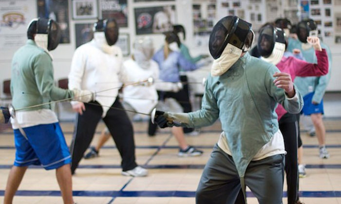 Royal Arts Fencing Academy - East Broad: 4, 8, or 12 One-Hour Introductory Lessons at Royal Arts Fencing Academy (67% Off)
