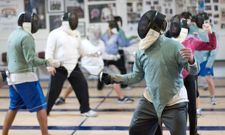 4, 8, or 12 One-Hour Introductory Lessons at Royal Arts Fencing Academy (67% Off)