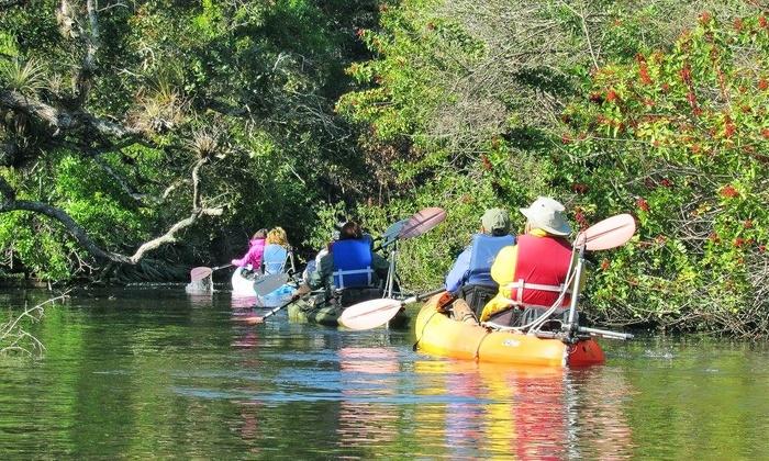 Motorized Kayak Adventures - Fort Pierce: $75 for a Motorized Kayak Tour for Two from Motorized Kayak Adventures ($120 Value)