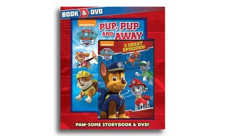 Paw Patrol Book and DVD Set