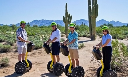 Segway Tour of Old Town Night/Day or Tempe Town Lake from Segway of Scottsdale (Up to 51% Off)