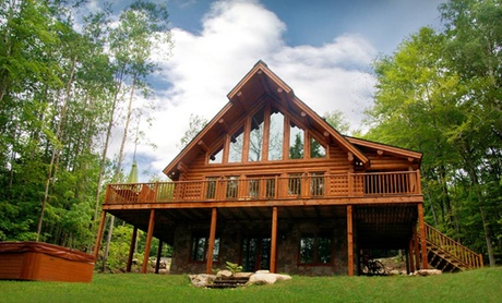 Luxury Log Cabins in Mont-Tremblant