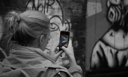 Three-Hour Smart Phone Street Photography Workshop for One or Two with The International Digital Media Academy (67% Off)