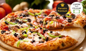 Távola Redonda: Távola Redonda – Centro: rodízio de pizza de segunda a quarta para 2 pessoas