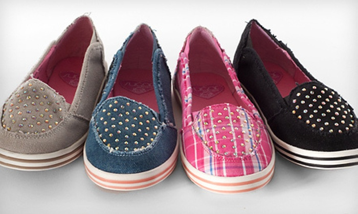 Sugar L'Crystal Coco Skimmer Shoes: $15 for a Pair of Sugar L'Crystal Coco Girls' Skimmer Shoes ($34.95 List Price). Multiple Sizes and Colors Available.