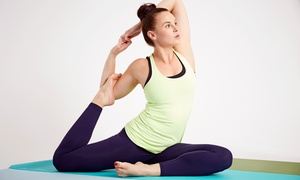 Yoga Funk: 10 Classes or One Month of Classes at Yoga Funk (Up to 72% Off)