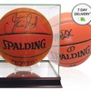 Autographed Basketball or Glass Display Case