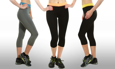 3-Pack of High Performance Active Capris