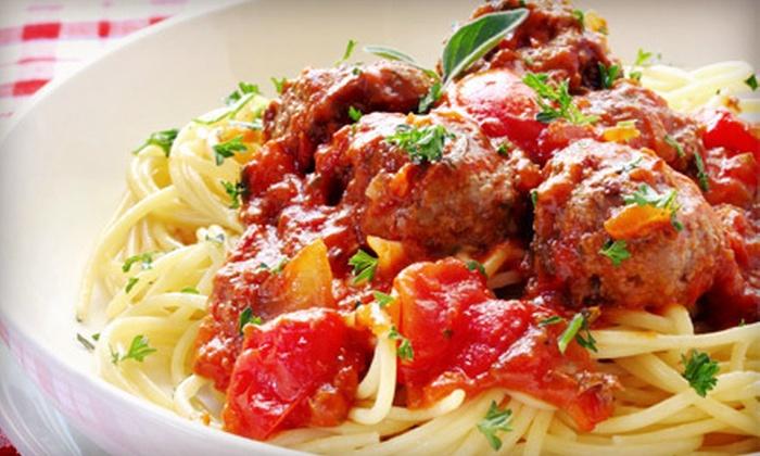 Francesca's Italian Kitchen - Temecula Creek Village: Italian Dinner Food at Francesca's Italian Kitchen (Half Off). Two Options Available.
