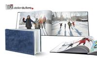 Livre photo à personnaliser, 3 modèles au choix à l'Atelier du Livre dès 9,99€ (jusquà 70% de réduction)