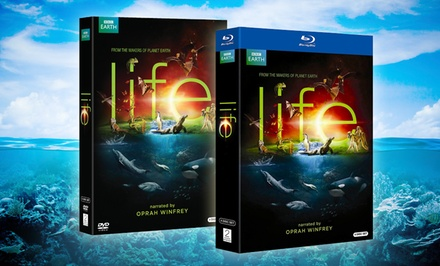 BBC Life 4-Disc DVD or Blu-ray Set Narrated by Oprah Winfrey. Free Returns.