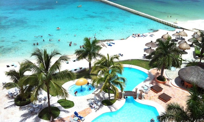 4 Night All Inclusive El Cozumeleño Beach Resort Stay With Nonstop Air From Vacation