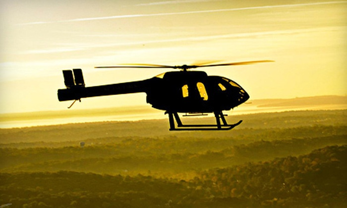 Wings Air - White Plains: 15- or 30-Minute Scenic Helicopter Tour from Wings Air (Up to 47% Off)