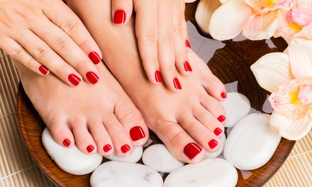 One Mani-Pedi, Manicure and Luxury Pedicure, or Gel Manicure with Pedicure at Phamily Nails Salon (Up to 50% Off)