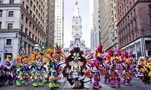Independence Visitor Center: Two or Four All-Day Admissions & Tickets to MummersFest at the Pennsylvania Convention Center  (Up to 40% Off)