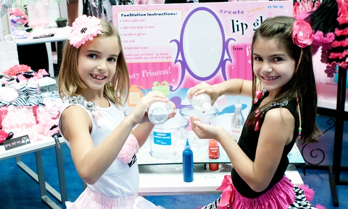 The Tutu Boutik - Marvin Gardens: Sparkling Diva Party, or Kid's Mani-Pedi with Optional Sparkling Makeup or Updo at The Tutu Boutik (Up to 50% Off)